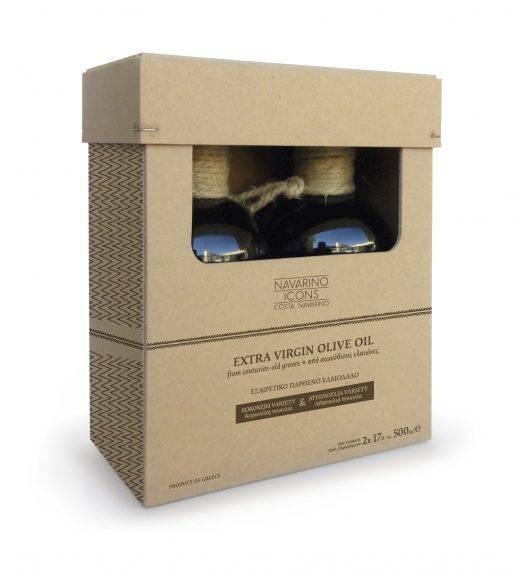 Hộp carton đựng chai dầu ăn olive