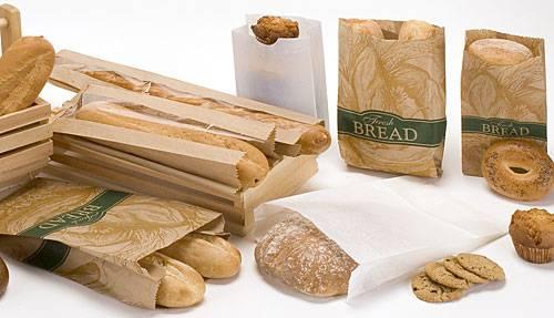 Túi giấy kraft đựng bánh mỳ